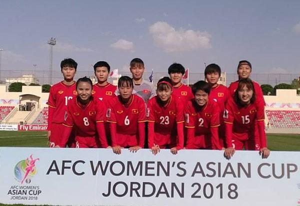 Asian Cup: Doi tuyen nu Viet Nam thua dam Nhat Ban 0-4 o tran ra quan hinh anh 1