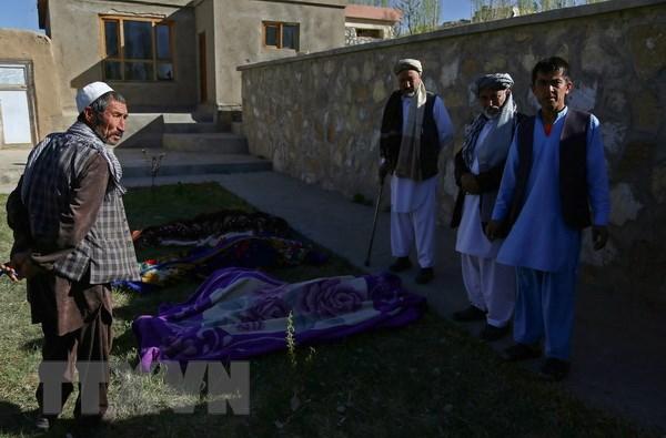 13 canh sat Afghanistan thiet mang trong cac cuoc tan cong cua Taliban hinh anh 1