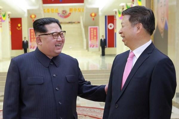 Nha lanh dao Trieu Tien keu goi tang cuong quan he voi Trung Quoc hinh anh 1