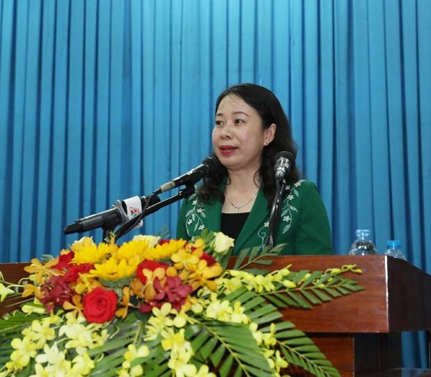 Tong Bi thu Nguyen Phu Trong tham, lam viec tai tinh An Giang hinh anh 2