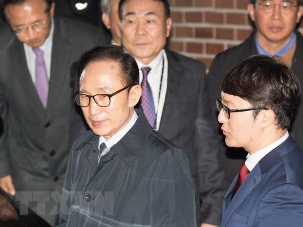 Han Quoc an dinh ngay xet xu cuu Tong thong Lee Myung-bak hinh anh 1