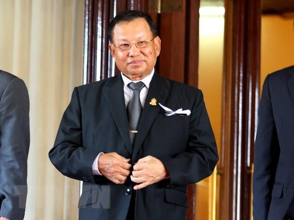 Ong Samdech Say Chhum duoc bau lai lam Chu tich Thuong vien Campuchia hinh anh 1