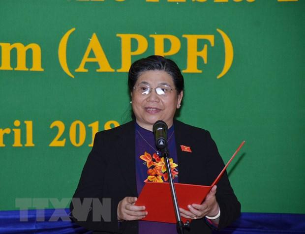 Quoc hoi Viet Nam chuyen giao chuc Chu tich APPF cho Campuchia hinh anh 2