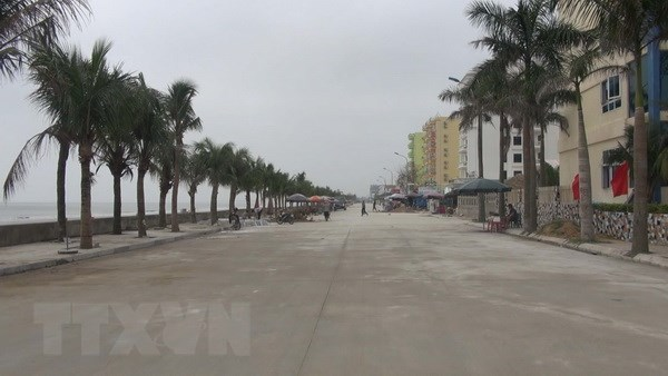 Thanh Hoa: Khu du lich Hai Tien san sang cho mua du lich 2018 hinh anh 1