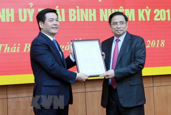 Ong Nguyen Hong Dien dam nhiem cuong vi Bi thu Tinh uy Thai Binh hinh anh 1