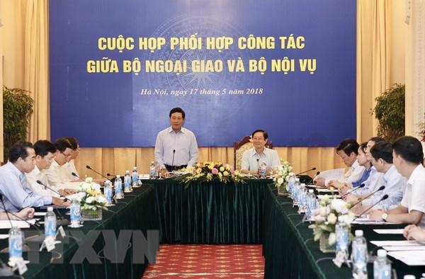 Bo Ngoai giao, Bo Noi vu phoi hop cung cap tai lieu xac dinh chu quyen hinh anh 1