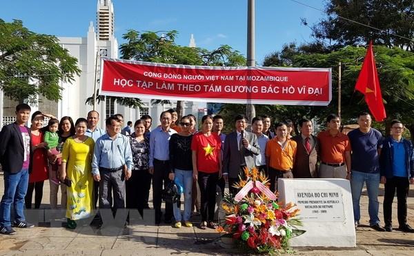Cong dong nguoi Viet tai Mozambique nho on cong lao Bac Ho hinh anh 1