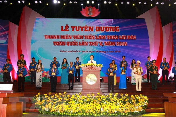 Tuyen duong thanh nien tien tien lam theo loi Bac toan quoc hinh anh 1