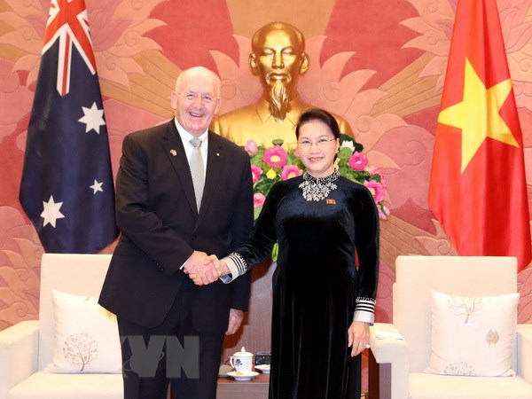 Khong ngung tang cuong quan he Doi tac Chien luoc Viet Nam-Australia hinh anh 1