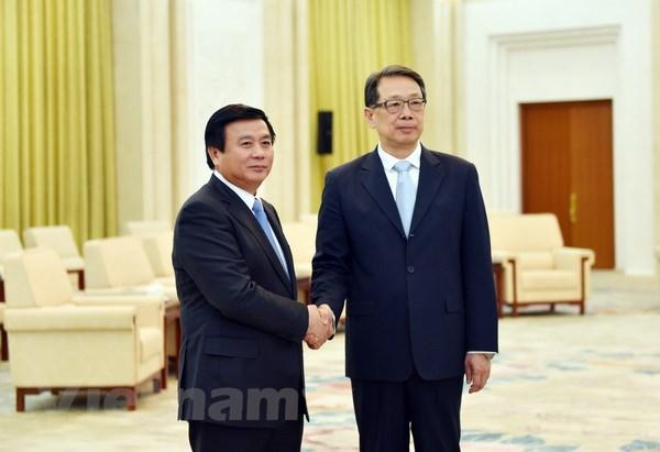 Dang Cong san Trung Quoc-Viet Nam cung co, phat trien quan he hinh anh 1