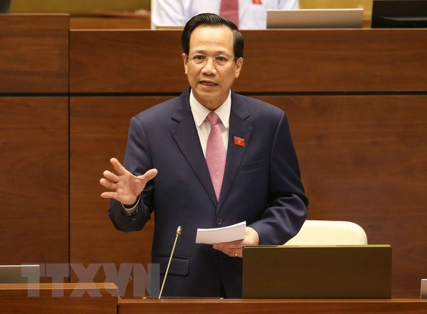 Bo truong Dao Ngoc Dung: 2018 la nam dot pha ve giao duc nghe nghiep hinh anh 1
