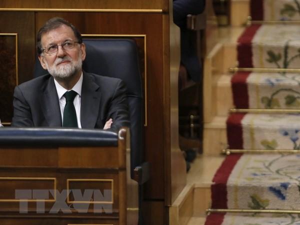 Tay Ban Nha: Ong Rajoy tuyen bo tu chuc chu tich dang cam quyen hinh anh 1