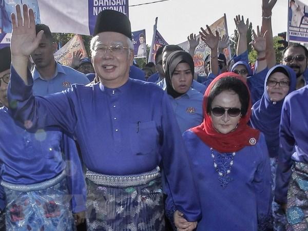 Phu nhan cuu Thu tuong Malaysia Najib Razak bi tham van hinh anh 1