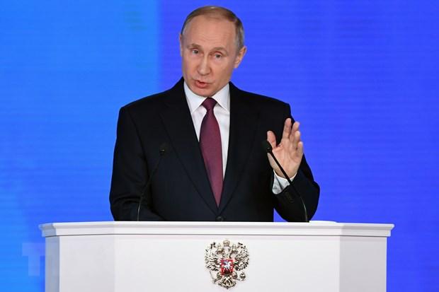 Tong thong Nga Vladimir Putin keu goi EU do bo trung phat hinh anh 1