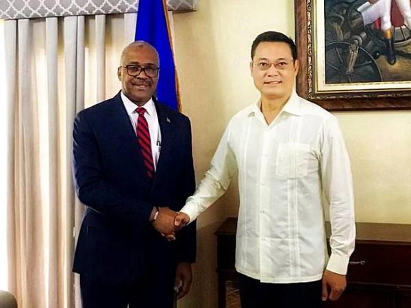 Haiti khang dinh mong muon phat trien quan he voi Viet Nam hinh anh 1