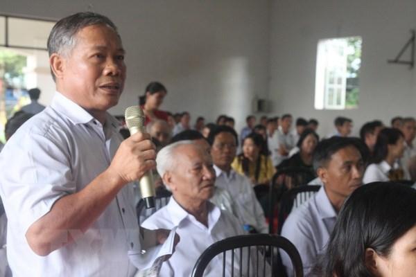 Khong co chuyen thong qua Luat Dac khu de ban dat cho nuoc ngoai hinh anh 2