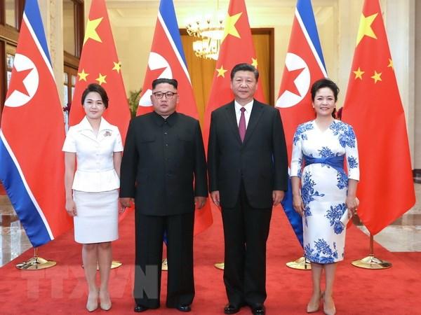 Nha lanh dao Trieu Tien Kim Jong-un ket thuc chuyen tham Trung Quoc hinh anh 1