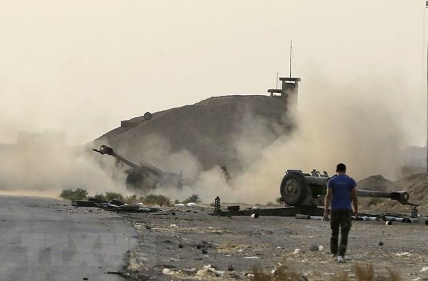 Lien quan chong IS khong kich tai Syria, nhieu dan thuong thiet mang hinh anh 1