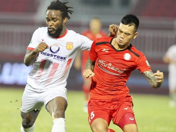 Cau lac bo Thanh pho Ho Chi Minh that thu 1-2 truoc Nam Dinh FC hinh anh 1