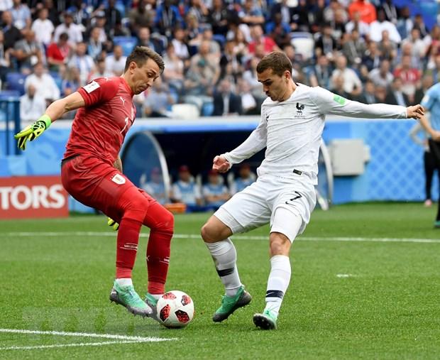 Vi sao Griezmann khong an mung ban thang ghi vao luoi Uruguay? hinh anh 1
