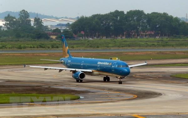 May bay cua Vietnam Airlines gap truc trac ky thuat tai san bay Vinh hinh anh 1