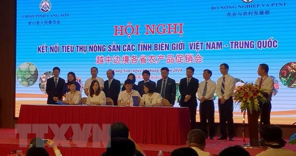 Ket noi tieu thu nong san cac tinh bien gioi Viet Nam-Trung Quoc hinh anh 1