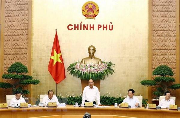 Noi dung Nghi quyet phien hop Chinh phu thuong ky thang 8 hinh anh 2