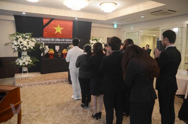 Dai su quan Viet Nam tai Nhat Ban to chuc le vieng Chu tich nuoc hinh anh 1