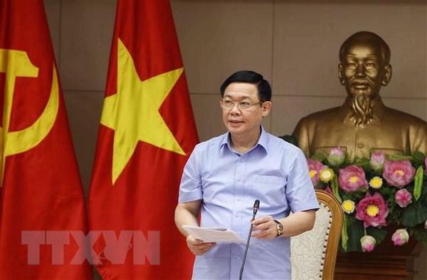 Pho Thu tuong Vuong Dinh Hue: Lam phat trong tam kiem soat Chinh phu hinh anh 1
