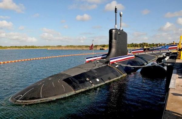 Hai quan My ha thuy tau ngam tan cong moi nhat USS Indiana hinh anh 1