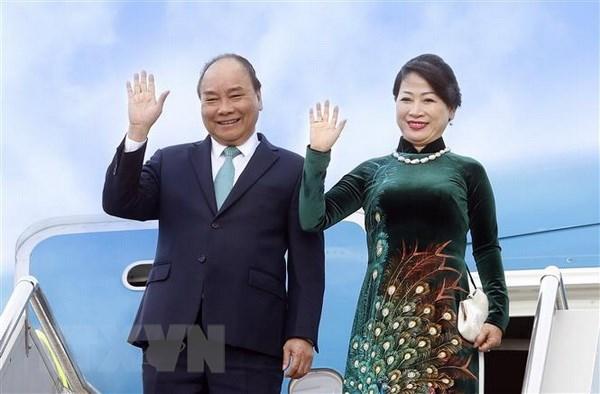 Thu tuong len duong du Hoi nghi Hop tac Mekong-Nhat Ban lan thu 10 hinh anh 1