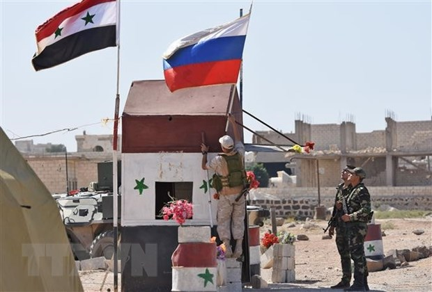 Nga: Su hien dien cua Iran tai Syria khong phai viec cua Israel hinh anh 1