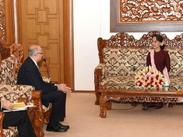 An Do-Myanmar ky ban ghi nho chi dinh mot hang van hanh cang bien hinh anh 1