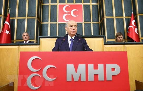 Tho Nhi Ky: MHP rut khoi lien minh tranh cu voi AKP hinh anh 1