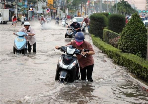 Ngap lut o DBSCL: Nguyen nhan tu dinh trieu