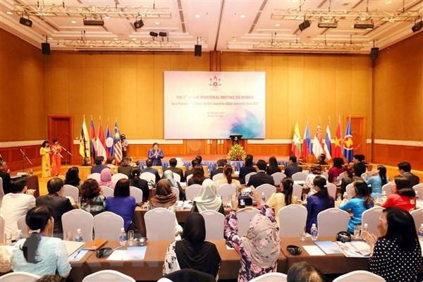 Tuyen bo chung cua Hoi nghi Bo truong phu nu ASEAN lan thu 3 hinh anh 1