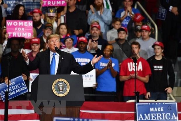 Tong thong Donald Trump se toi Pittsburgh sau vu xa sung hinh anh 1