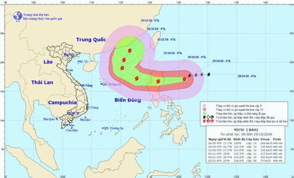 Bao Yutu manh cap 13 se do bo dao Luzon cua Philippines hinh anh 1
