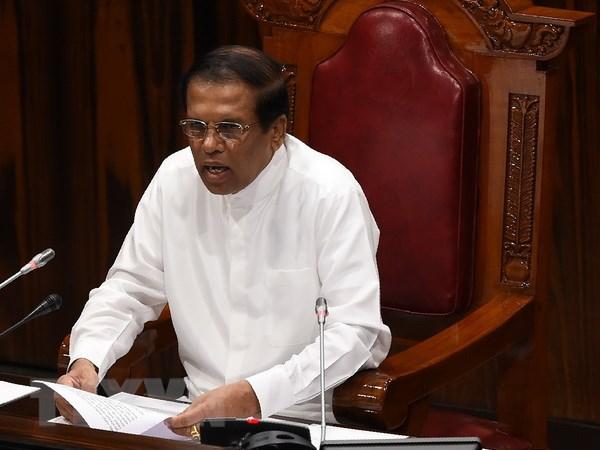 My keu goi Tong thong Sri Lanka lap tuc trieu tap Quoc hoi hinh anh 1
