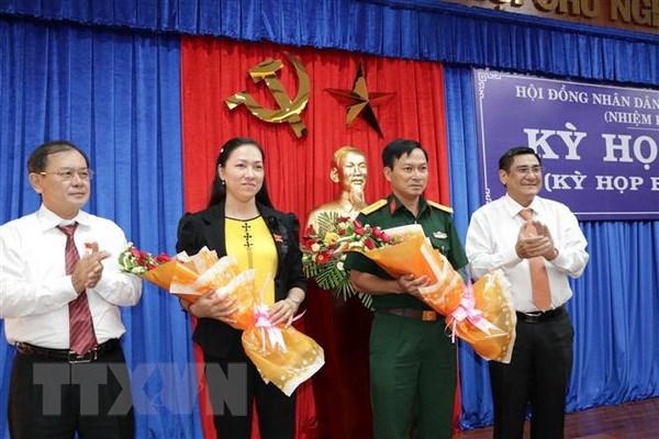 Bau bo sung Pho Chu tich Hoi dong nhan dan tinh Ben Tre hinh anh 1