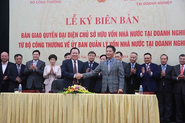 Ban giao 6 tap doan, tong cong ty ve Uy ban Quan ly von nha nuoc hinh anh 1