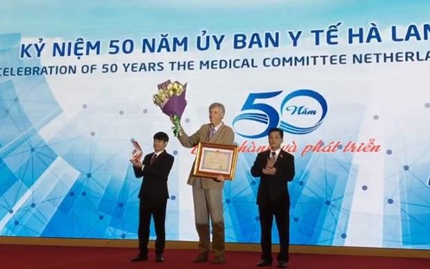 Ky niem 50 nam thanh lap Uy ban Y te Ha Lan - Viet Nam hinh anh 1
