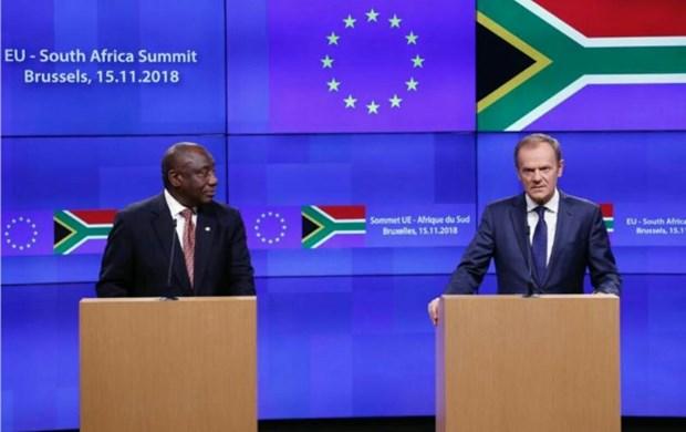 EU va Nam Phi keu goi bao toan thoa thuan hat nhan Iran hinh anh 1