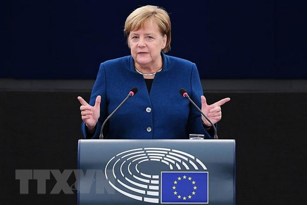 Duc hy vong EU va Anh ky thoa thuan Brexit vao cuoi tuan nay hinh anh 1