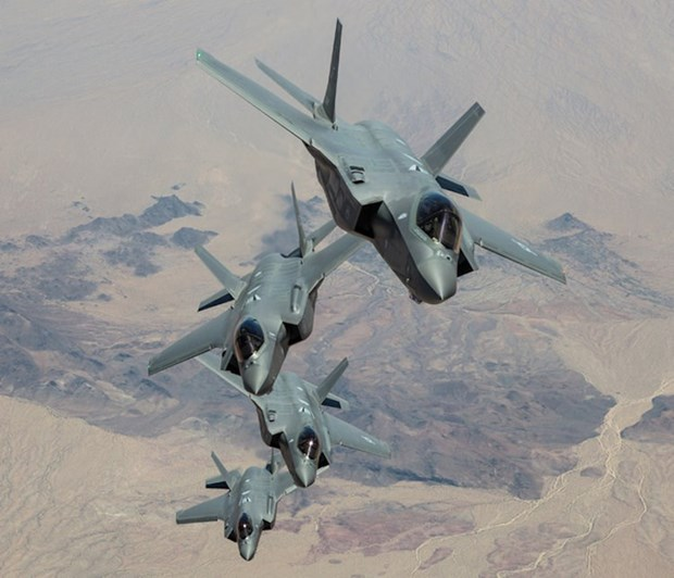 Nhat Ban co ke hoach mua them 100 may bay tiem kich F-35 tu My hinh anh 1