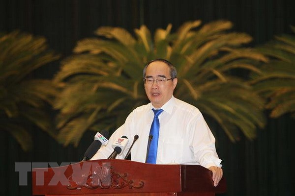Hoi nghi Thanh uy TP.HCM: Nam 2019 la nam thoi co de tang toc hinh anh 2