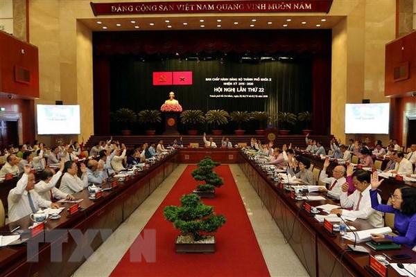 Hoi nghi Thanh uy TP.HCM: Nam 2019 la nam thoi co de tang toc hinh anh 1