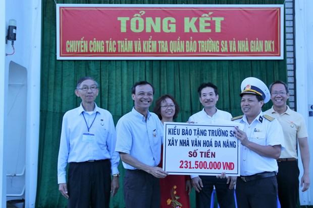 Mot long huong ve Hoang Sa, Truong Sa, ve bien dao que huong hinh anh 3