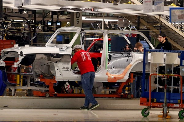 Hang Fiat Chrysler du dinh mo nha may moi tai Detroit hinh anh 1