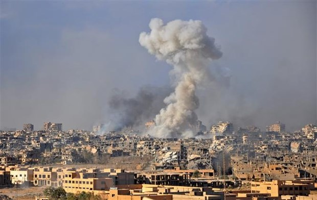 Syria: Lien quan My khong kich khien nhieu dan thuong thiet mang hinh anh 1